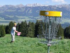 Webcam Disc Golf im Allgäu