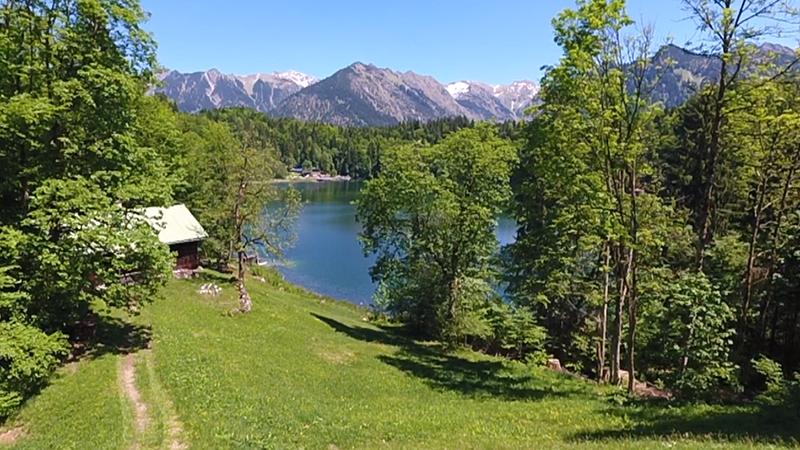 Webcam Freibad Freibergsee im Allgäu